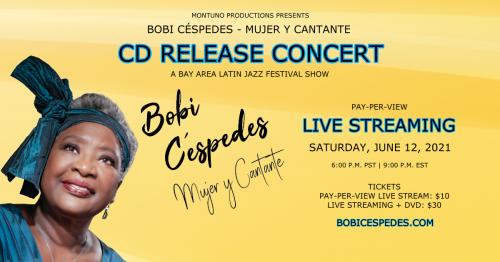 Bobi Céspedes New Album Release Concert - Mujer Y Cantante