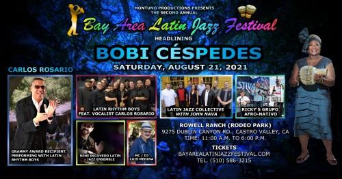 2nd Annual Bay Area Latin Jazz Festival