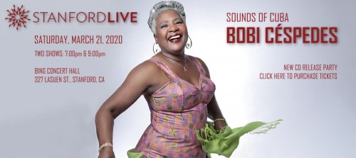 STANFORDLIVE - Sounds of Cuba: Bobi Céspedes