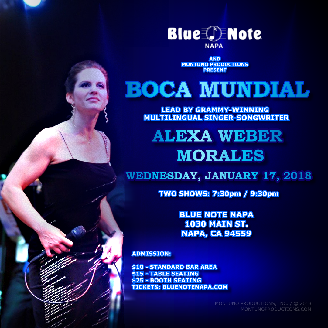 Alexa Weber Morales & Boca Mundial