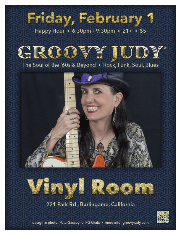 The Groovy Judy Band Live at Vynil Room